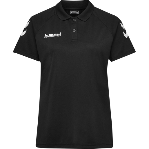 CORE FUNCTIONAL POLO WOMAN, BLACK, packshot