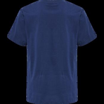 hmlUNI T-SHIRT S/S, !ESTATE BLUE, packshot