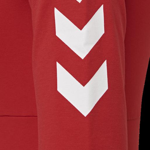 hmlVINNI CROPPED TOP, TRUE RED, packshot