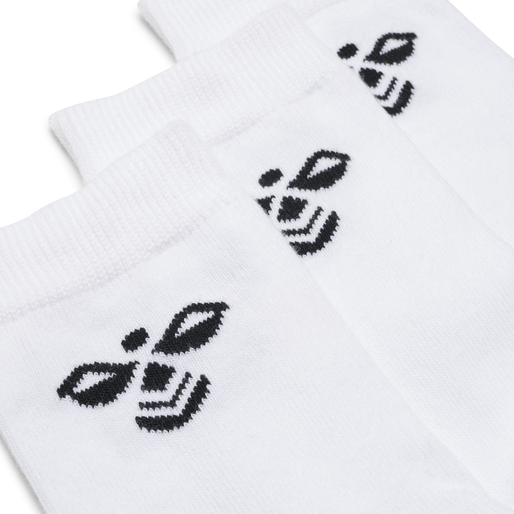 SUTTON 3-PACK SOCK, WHITE, packshot