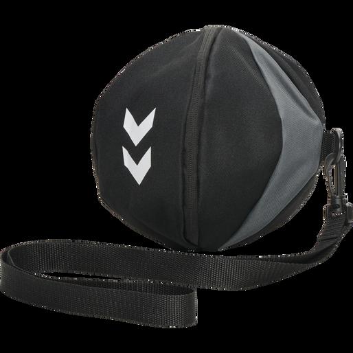 CORE HANDBALL BAG, BLACK, packshot