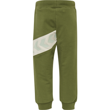 hmlCLEMENT PANTS, PESTO, packshot