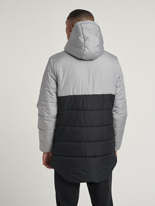 hmlTHEO COAT, BLACK, model