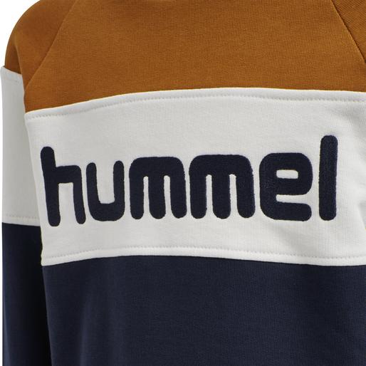 hmlCLAES SWEATSHIRT, PUMPKIN SPICE, packshot