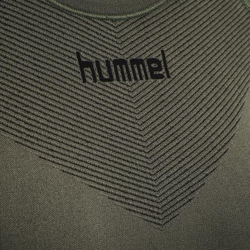 HUMMEL FIRST SEAMLESS JERSEY L/S WOMAN, GRAPE LEAF, packshot