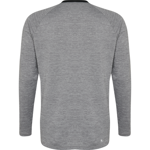 TECH MOVE JERSEY L/S, GREY MELANGE, packshot
