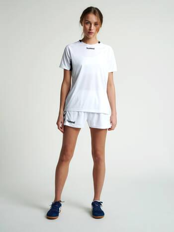 CORE TEAM JERSEY WOMAN S/S, WHITE, model