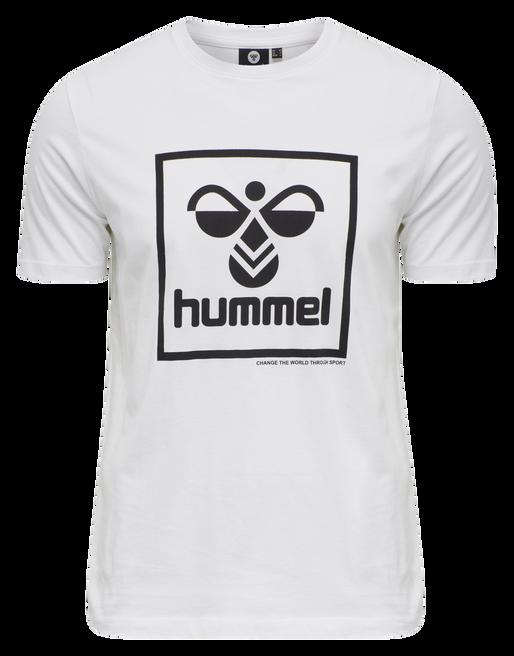 hmlISAM T-SHIRT, WHITE, packshot