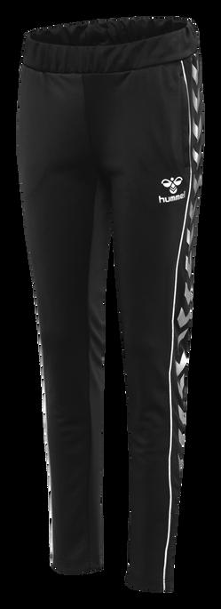 hmlJINA SLIM PANTS, BLACK, packshot