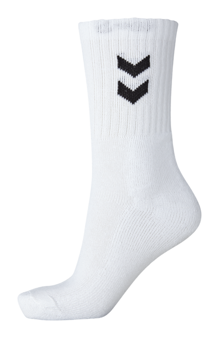 3-Pack Basic Socken, WHITE, packshot