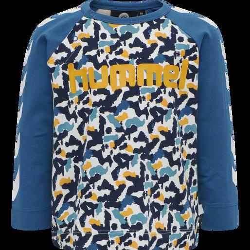 hmlRAY T-SHIRT L/S, BLUE SAPPHIRE, packshot