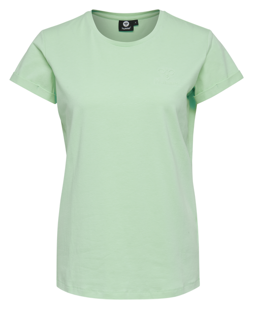 HMLISOBELLA T-SHIRT S/S, ICE GREEN, packshot