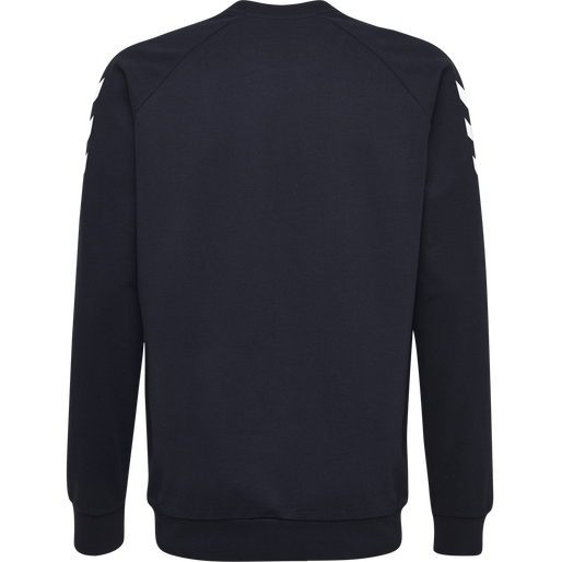 HUMMEL GO COTTON SWEATSHIRT, MARINE, packshot