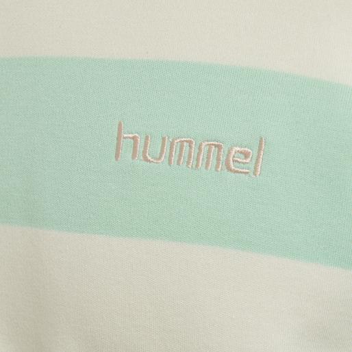hmlCOLD HAWAII LOOSE SWEATSHIRT, ICE GREEN, packshot