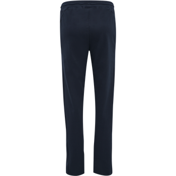 hmlACTION COTTON PANTS WOMAN, DARK SAPPHIRE/FIESTA, packshot