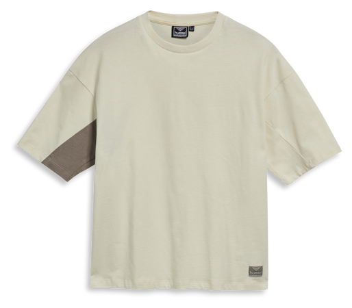 hmlROOFTOP T-SHIRT, WHITE ASPARGUS, packshot
