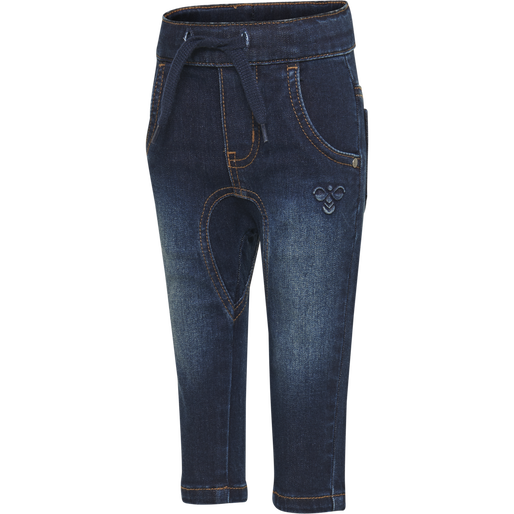 hmlLEO PANTS, DARK DENIM, packshot