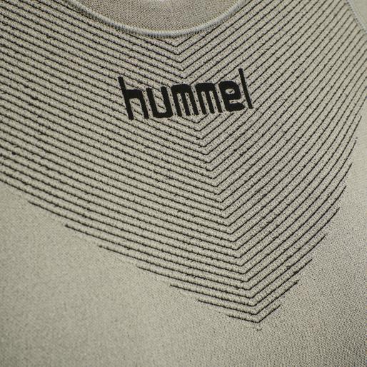 HUMMEL FIRST SEAMLESS JERSEY S/S WOMAN, LONDON FOG, packshot