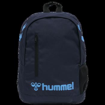 hmlACTION BACK PACK, BLACK IRIS/ATOMIC BLUE, packshot