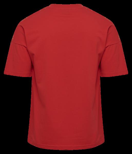 hmlBEACH BREAK T-SHIRT S/S, TRUE RED, packshot