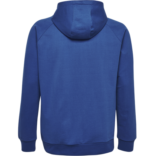 HUMMEL GO COTTON LOGO HOODIE, TRUE BLUE, packshot