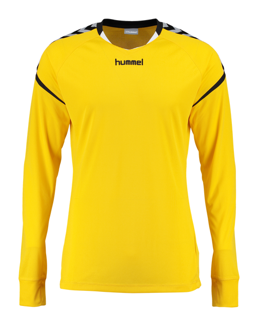 AUTH. CHARGE LS POLY JERSEY, SPORTS YELLOW, packshot