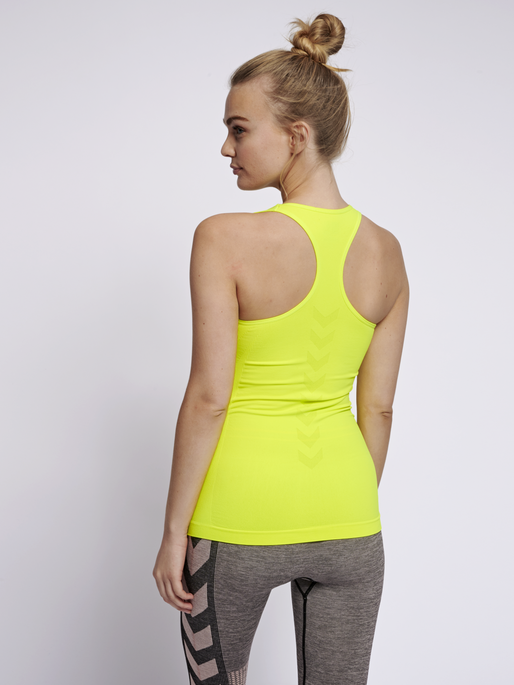 SUE SEAMLESS TOP, SAFETY YELLOW, model