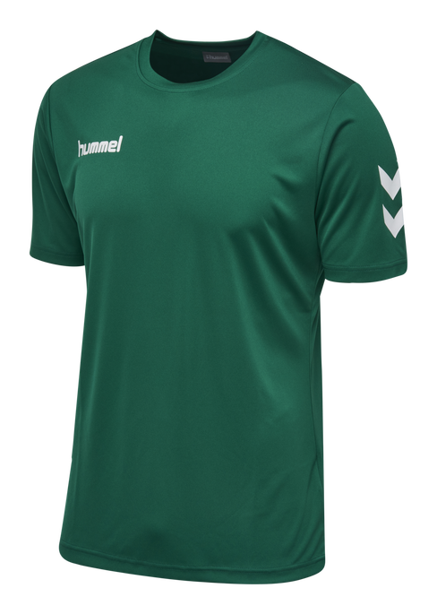CORE POLYESTER TEE, EVERGREEN, packshot