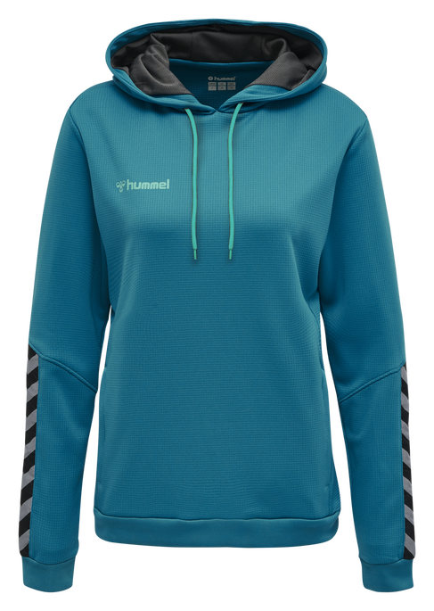 hmlAUTHENTIC POLY HOODIE WOMAN, CELESTIAL, packshot