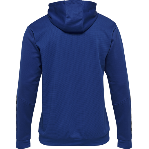 hmlAUTHENTIC KIDS POLY HOODIE, TRUE BLUE, packshot