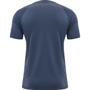 hmlLEAD PRO SEAMLESS TRAINING JERSEY, DARK DENIM, packshot