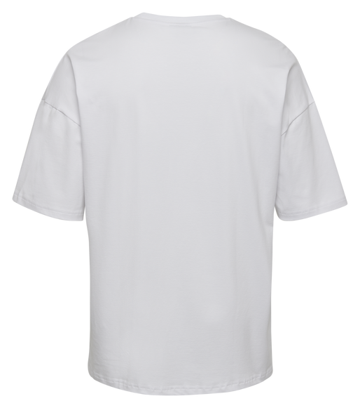 hmlINSIDE REEF LOOSE T-SHIRT S/S, WHITE, packshot