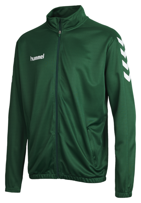 CORE POLY JACKET, EVERGREEN, packshot