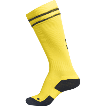 ELEMENT FOOTBALL SOCK , SPORTS YELLOW/BLACK, packshot