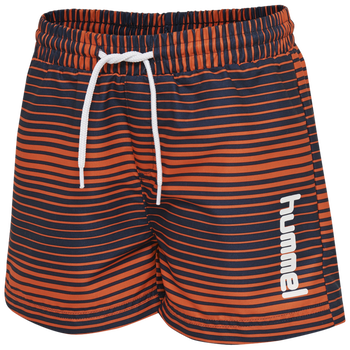 hmlCHILL BOARD SHORTS, MANDARIN RED, packshot