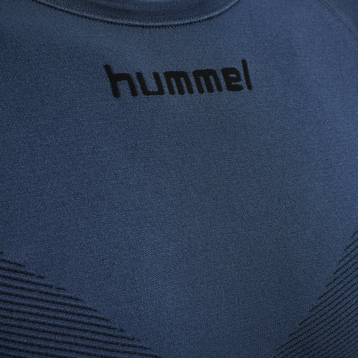 HUMMEL FIRST SEAMLESS JERSEY L/S , DARK DENIM, packshot