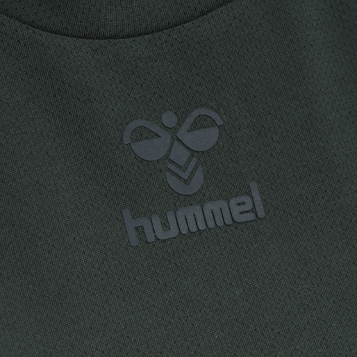 hmlVANJA T-SHIRT S/S, DARKEST SPRUCE, packshot