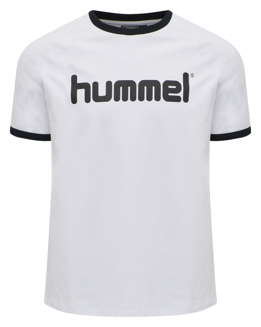 hmlBAY T-SHIRT S/S, WHITE, packshot