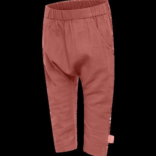 hmlFREY PANTS, REDWOOD, packshot