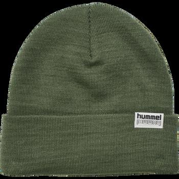 hmlPARK BEANIE, THYME, packshot