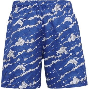 HMLMARTY SWIM SHORTS, MIDNIGHT BLUE, packshot