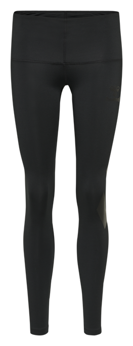 hmlPARIS HIGH WAIST TIGHTS, BLACK, packshot