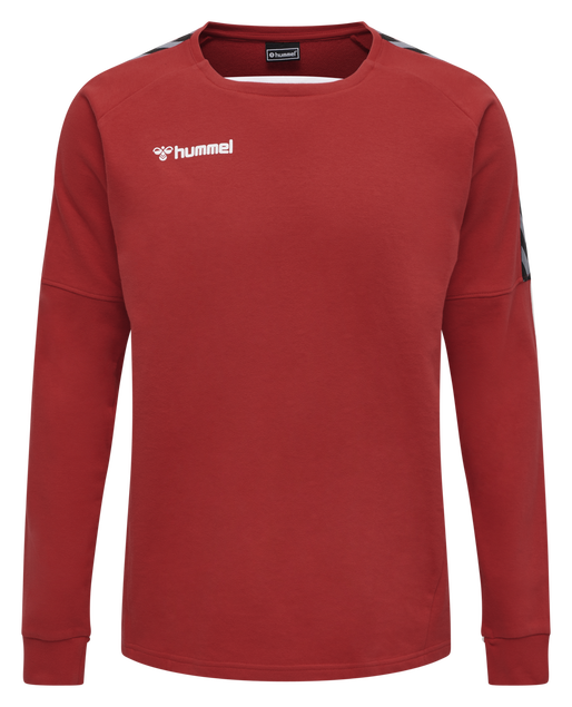 hmlAUTHENTIC TRAINING SWEAT, TRUE RED, packshot