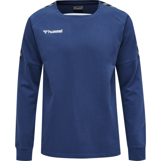 hmlAUTHENTIC TRAINING SWEAT, TRUE BLUE, packshot