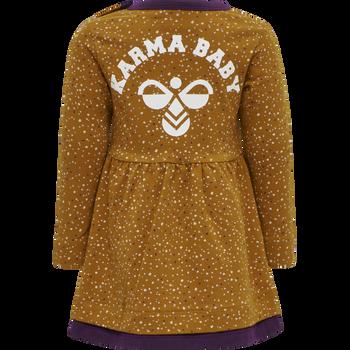hmlDORY DRESS L/S, PUMPKIN SPICE, packshot