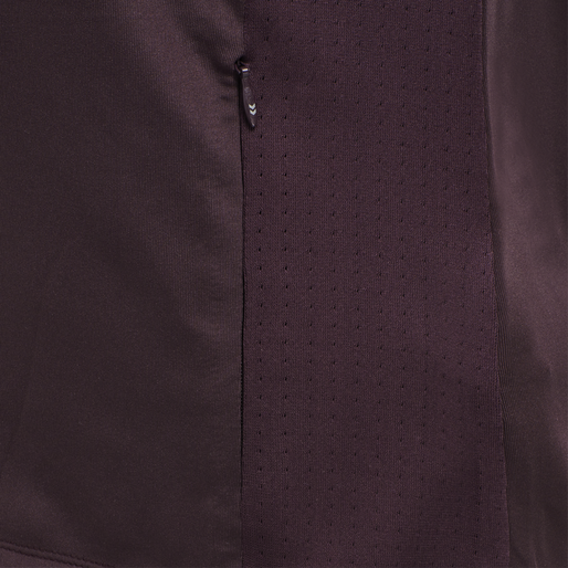 HMLOPIA ZIP JACKET, DEEP PURPLE, packshot