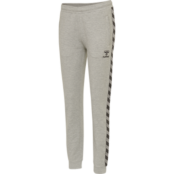 hmlMOVE CLASSIC PANTS WOMAN, GREY MELANGE, packshot