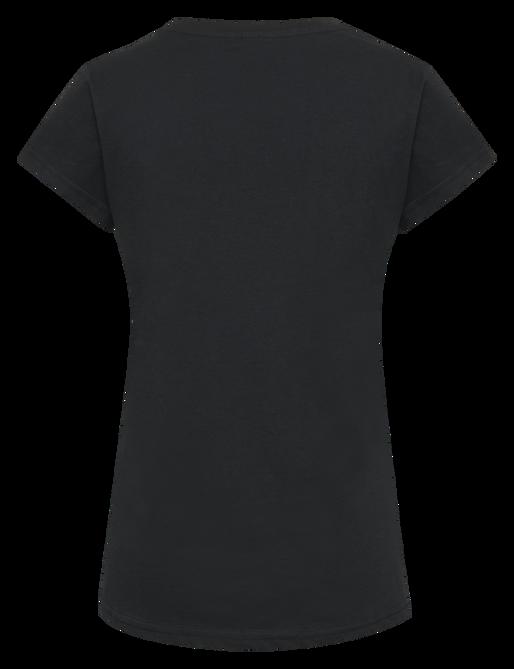 hmlCEDAR T-SHIRT S/S, BLACK, packshot
