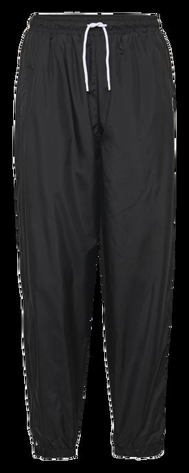 hmlCHRISTAL OVERSIZED PANTS, BLACK, packshot