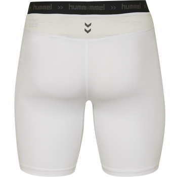 HUMMEL FIRST PERFORMANCE KIDS TIGHT SHORTS, WHITE, packshot